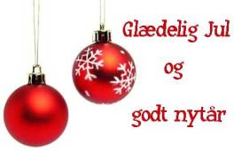 Danish for Merry Christmas and Happy New Year
