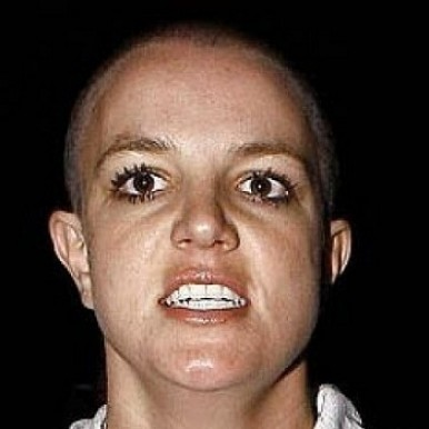 britney hair head shaved spear
